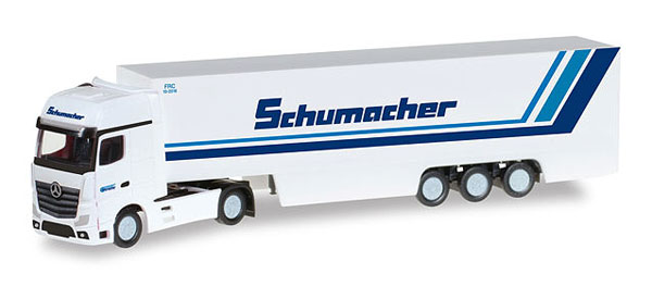 066501 - Herpa Model Schumacher Mercedes Benz Actros Gigaspace