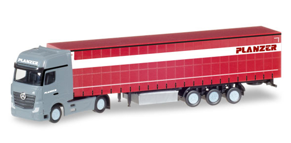 066631 - Herpa Planzer Mercedes Benz Actros Gigaspace