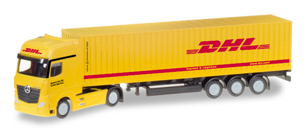 066679 - Herpa DHL Mercedes Benz Actros Gigaspace