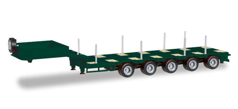 076388 - Herpa 5 Axle Goldhofer Drop Deck Trailer