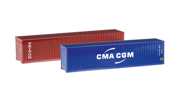 076449 - Herpa 40 Containers Set of 2 Triton