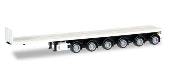 076715 - Herpa 6 Axle Noteboom Flatbed Trailer Minikit