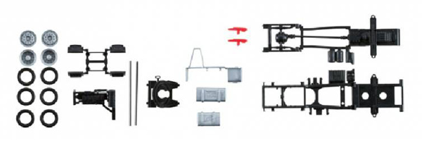 herpa model man tgx euro 6 chassis parts kit