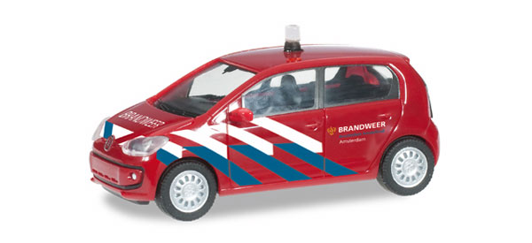 091480 - Herpa Brandweer Fire Department Volkswagen Up