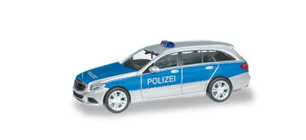 091770 - Herpa Police Mercedes Benz C Class Police