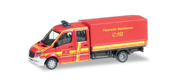 091817 - Herpa Mercedes Benz Sprinter Fire Truck All