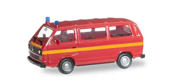 091848 - Herpa Volkswagen T 3 Fire Vehicle All