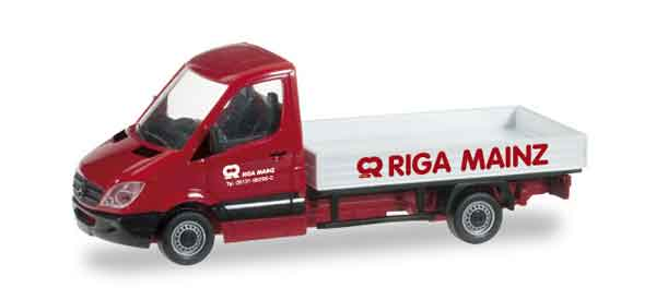 herpa riga mainz mercedes benz sprinter pick. Black Bedroom Furniture Sets. Home Design Ideas
