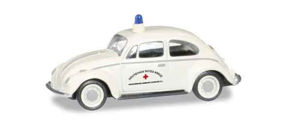 092098 - Herpa Volkswagen Beetle Red Cross All or