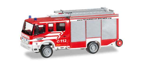 092197 - Herpa Bremen Fire Department Mercedes Benz Atego