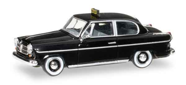 092302 - Herpa Borgward Isabella Taxi All or