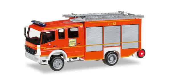 092319 - Herpa Mercedes Benz Atego Fire Truck All