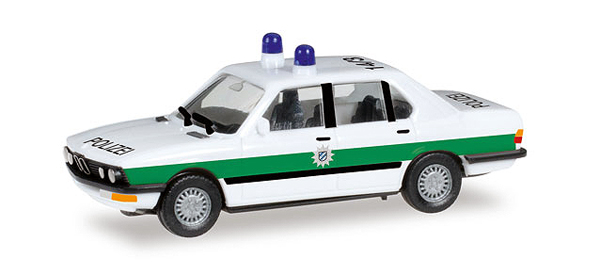 092401 - Herpa Bavarian Police BMW 528i Sedan