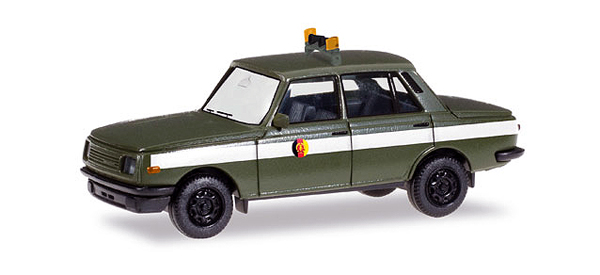 092487 - Herpa East German Army Wartburg 353 Sedan