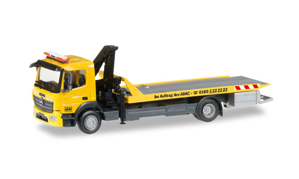 092500 - Herpa ADAC Mercedes Benz Atego Flatbed Tow