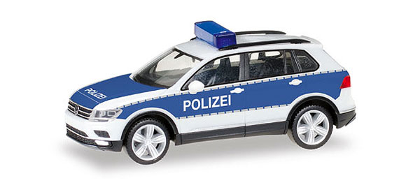 092623 - Herpa Model Polizei Volkswagen Tiguan Police Car