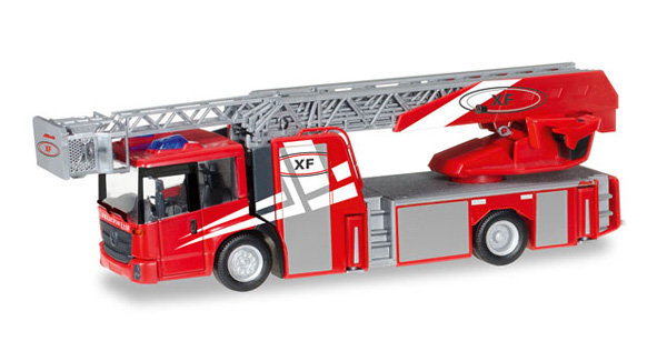 092937 - Herpa Fire Service Mercedes Benz Econic Turnable