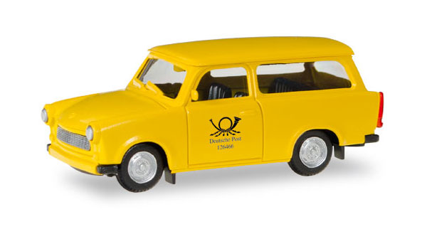 093095 - Herpa Deutsche Post Trabant 601 Universal All