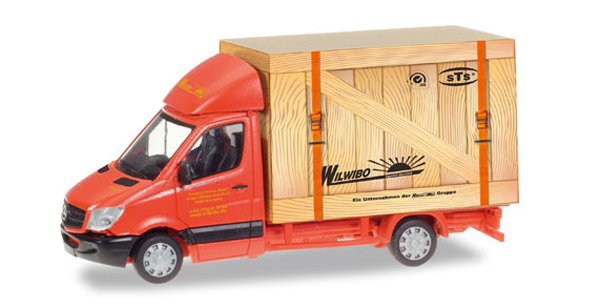 093286 - Herpa Spedition Wirtz Mercedes Benz Sprinter Box