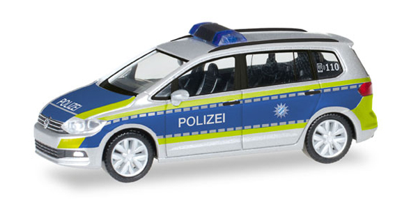 093293 - Herpa Polizei Bayern Volkswagen Touran Police Vehicle