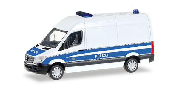 093316 - Herpa Federal Police Mercedes Benz Sprinter Van