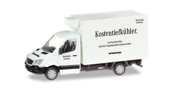 093323 - Herpa ChaterWay Mercedes Benz Sprinter Refrigerated Box