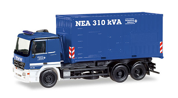 093422 - Herpa THW Cloppenburg Mercedes Benz Actros MP2