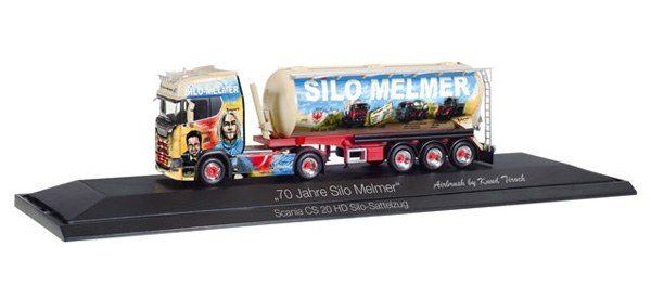 121804 - Herpa 70 Years Silo Melmer Scania CS