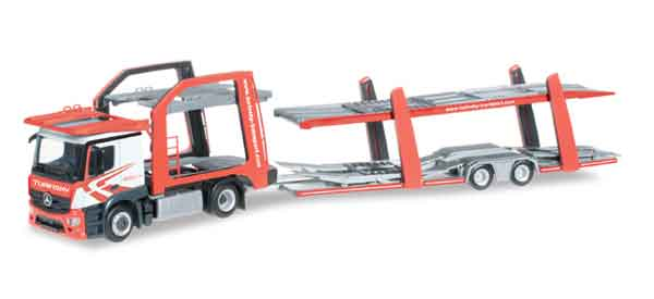 304412 - Herpa Model Mercedes Benz Actros Classicspace Car Carrier All