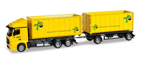304580 - Herpa Mercedes Benz Actros Streamspace and Combi