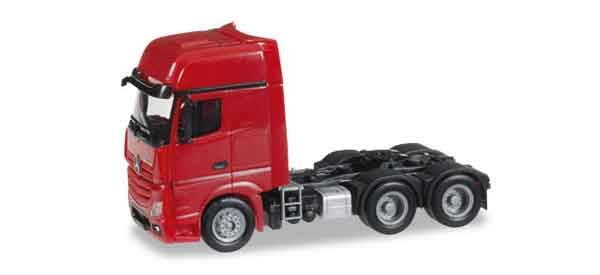 305167 - Herpa Model Mercedes Benz Actros Gigaspace 6X4 Truck Cab