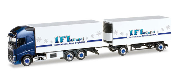 305822 - Herpa Model IFL Koln Volvo FH GL XL Refrigerated