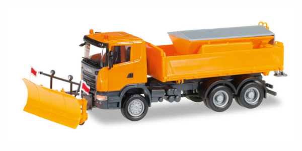 306492 - Herpa Model Winter Service Scania R Utility Truck