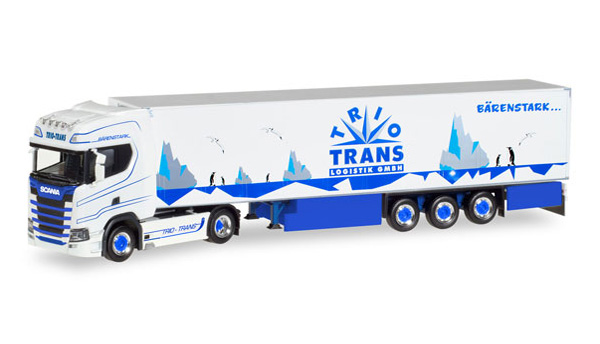 308052 - Herpa Trio Trans Scania CS20 HD