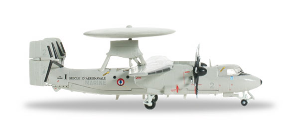 556675 - Herpa Model Grumman E 2c Hawkeye French Navy