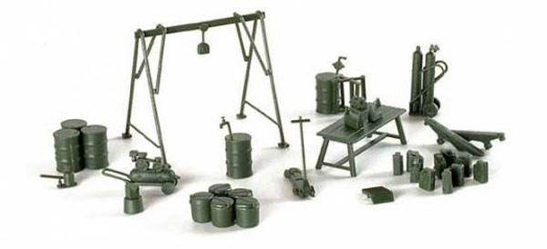 740654 - Herpa Military Service and Maintenance Set All