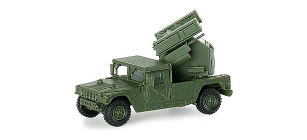 741569 - Herpa Hummer with Avenger Grenade Launcher All