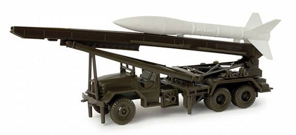 743211-X - Herpa Self Propelled Rocket Launcher Honest John