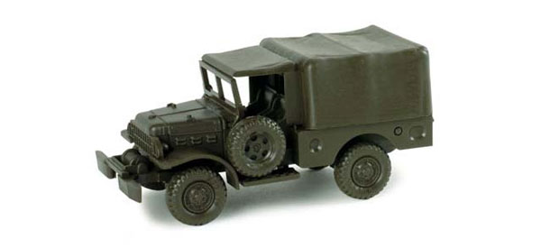 743570 - Herpa Dodge Old Squad Transporter Truck All