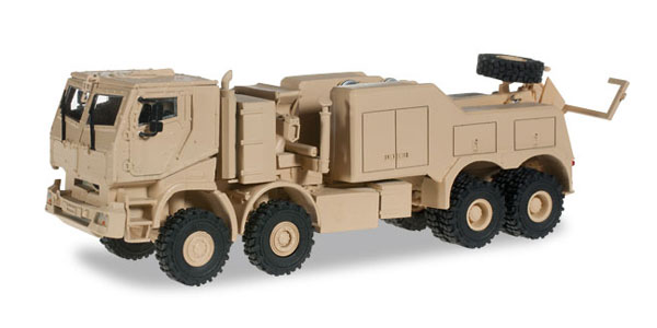 744904 - Herpa Model Mercedes Benz Actros Armored Wrecker