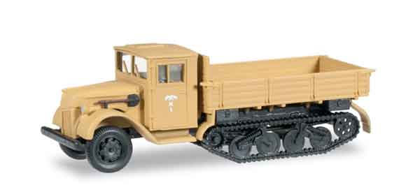 745086 - Herpa Ford Wooden Cab Half Track Truck