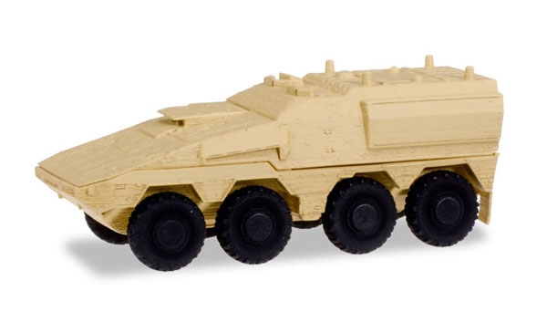 745147 - Herpa GTK Boxer Sanitation Vehicle