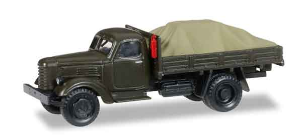 745390 - Herpa Model Zil 150 Canvas Truck Soviet Army
