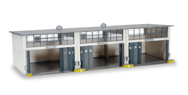 745802 - Herpa Building Set 3 Stall Repair Facility