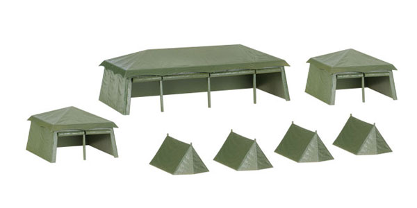 745826 - Herpa Tent Set Assembly Kit 7 pieces
