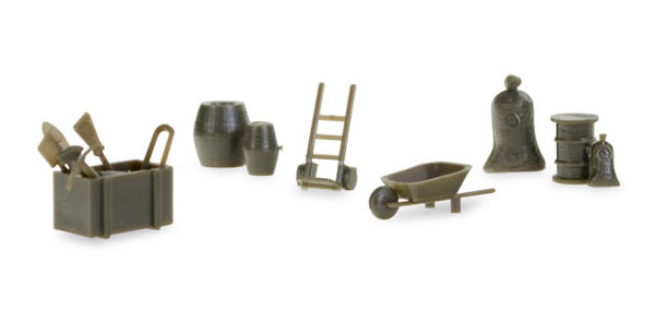 745840 - Herpa Accessories Camp Tools 144 pieces wheelbarrows
