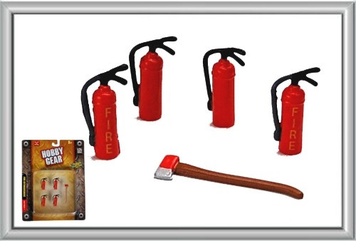 17017 - Hobby Gear Fire Extinguishers Perfect