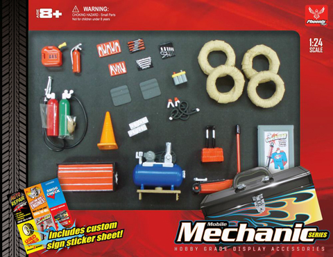 18415 - Hobby Gear Mobil Mechanic Accessory Set
