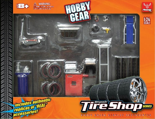 18422 - Hobby Gear Repair Tire Shop Set perfect