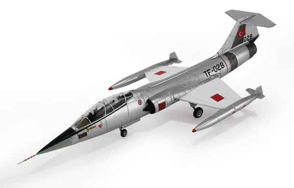 HA1061 - Hobby Master TF 104G Starfighter Turkish Air Force